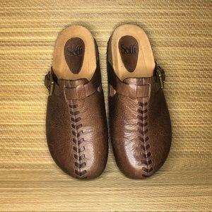 Sofft Branwen clogs Size 8.5